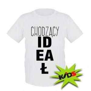 Dziecięcy T-shirt Chodzący ideał