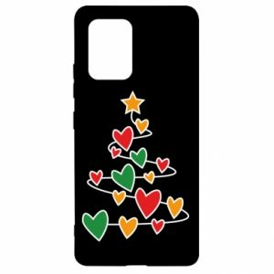 Samsung S10 Lite Case Christmas tree and a lot of hearts