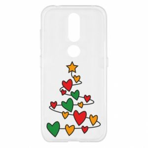 Nokia 4.2 Case Christmas tree and a lot of hearts