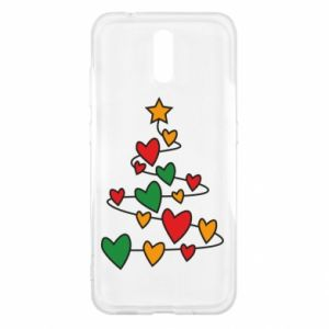 Nokia 2.3 Case Christmas tree and a lot of hearts