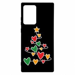 Etui na Samsung Note 20 Ultra Choinka i dużo serc