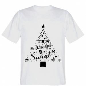 Koszulka męska Choinka Świąteczna