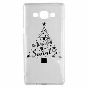 Etui na Samsung A5 2015 Choinka Świąteczna