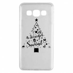 Etui na Samsung A3 2015 Choinka Świąteczna