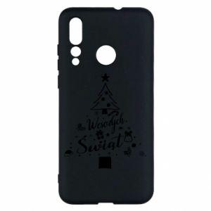 Etui na Huawei Nova 4 Choinka Świąteczna