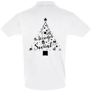 Koszulka Polo Choinka Świąteczna