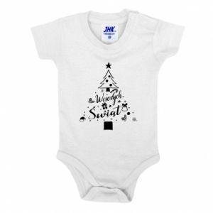 Baby bodysuit Christmas