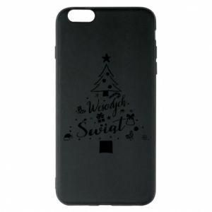 Etui na iPhone 6 Plus/6S Plus Choinka Świąteczna