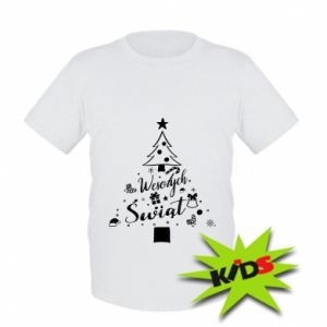 Koszulka dziecięca Choinka Świąteczna