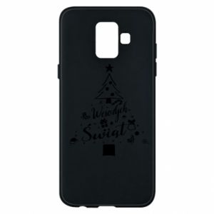 Phone case for Samsung A6 2018 Christmas