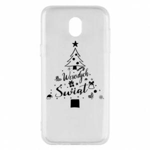 Etui na Samsung J5 2017 Choinka Świąteczna