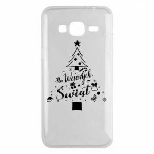 Etui na Samsung J3 2016 Choinka Świąteczna