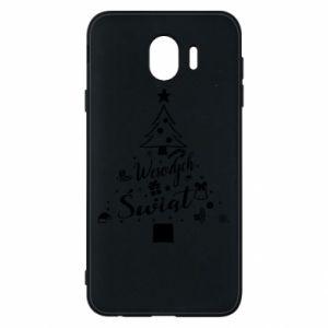 Etui na Samsung J4 Choinka Świąteczna