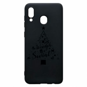 Phone case for Samsung A20 Christmas