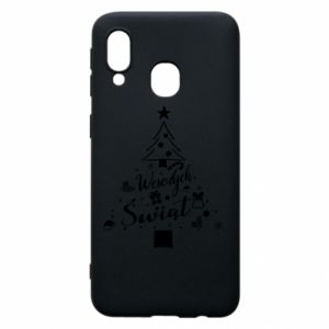 Phone case for Samsung A40 Christmas