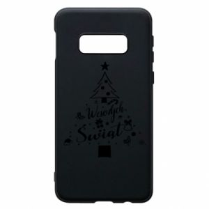 Etui na Samsung S10e Choinka Świąteczna