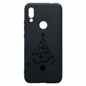 Etui na Xiaomi Redmi 7 Choinka Świąteczna