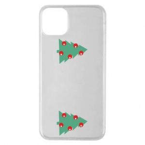 iPhone 11 Pro Max Case Christmas trees on the chest