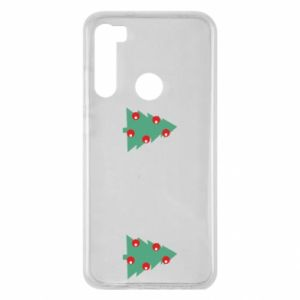 Xiaomi Redmi Note 8 Case Christmas trees on the chest