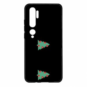 Xiaomi Mi Note 10 Case Christmas trees on the chest