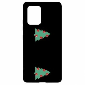 Samsung S10 Lite Case Christmas trees on the chest