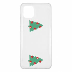 Samsung Note 10 Lite Case Christmas trees on the chest