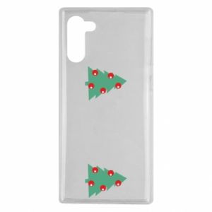 Samsung Note 10 Case Christmas trees on the chest