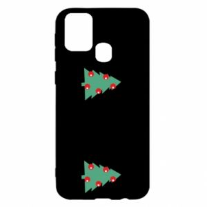 Samsung M31 Case Christmas trees on the chest