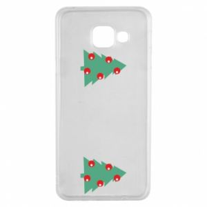Samsung A3 2016 Case Christmas trees on the chest