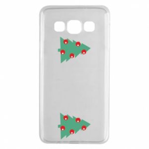Samsung A3 2015 Case Christmas trees on the chest
