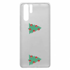 Huawei P30 Pro Case Christmas trees on the chest