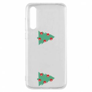 Huawei P20 Pro Case Christmas trees on the chest