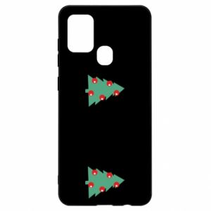 Samsung A21s Case Christmas trees on the chest