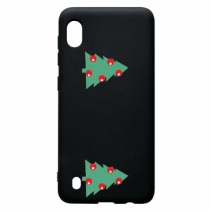 Samsung A10 Case Christmas trees on the chest