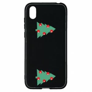 Huawei Y5 2019 Case Christmas trees on the chest