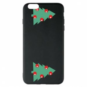 iPhone 6 Plus/6S Plus Case Christmas trees on the chest