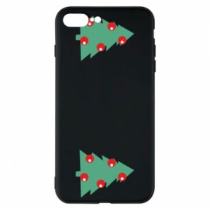 iPhone 7 Plus case Christmas trees on the chest