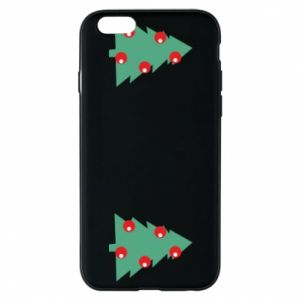 iPhone 6/6S Case Christmas trees on the chest