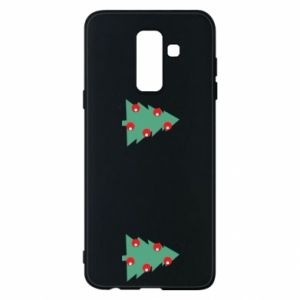 Samsung A6+ 2018 Case Christmas trees on the chest