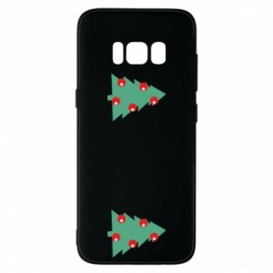 Samsung S8 Case Christmas trees on the chest