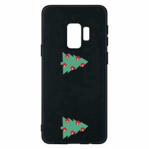Samsung S9 Case Christmas trees on the chest