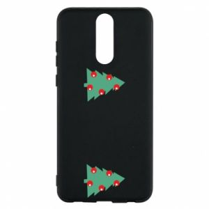 Huawei Mate 10 Lite Case Christmas trees on the chest