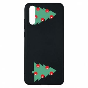 Huawei P20 Case Christmas trees on the chest