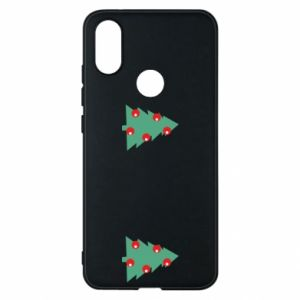 Xiaomi Mi A2 Case Christmas trees on the chest