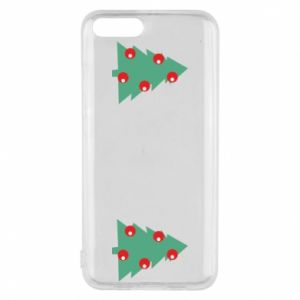 Phone case for Xiaomi Mi6 Christmas trees on the chest