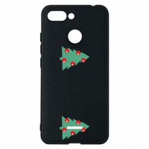 Xiaomi Redmi 6 Case Christmas trees on the chest