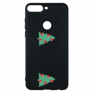 Huawei Y7 Prime 2018 Case Christmas trees on the chest