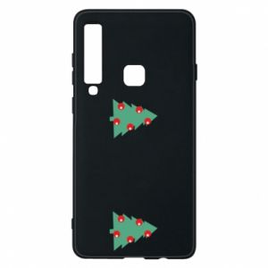 Samsung A9 2018 Case Christmas trees on the chest