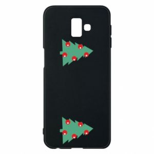 Samsung J6 Plus 2018 Case Christmas trees on the chest