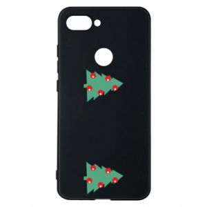 Phone case for Xiaomi Mi8 Lite Christmas trees on the chest